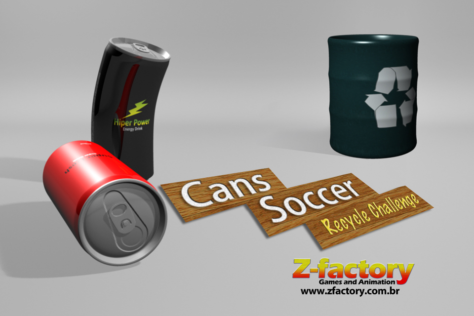 Screenshot Cans Soccer Recycle Challenge 3D